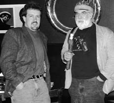 Tony Rager and Butch Berman in New York City in 1999