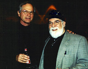 Doug Campbell and Butch Berman in 2004 [File Photo]