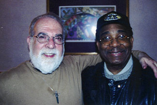 Butch Berman and Norman Hedman in 2004 [File Photo]